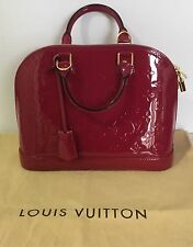 Louis Vuitton Alma PM Monogram Vernis - INDIAN ROSE - New