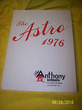 The Anthony School Little Rock Arkansas 1976 Yearbook Annual
