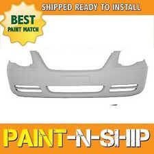NEW 2005 2006 2007 Chrysler Town & Country w/o Fog Front Bumper Painted CH100043