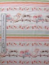 Patchwork Quilting Fabric Bush Babies Galahs Kookaburra Cotton Border FQ 50x55cm