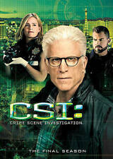 CSI: Crime Scene Investigation: The Final Season 15 (DVD, 2015, 5-Disc Set)