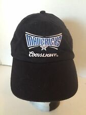 Dallas Mavericks Coors Light Black Adjustable Cap