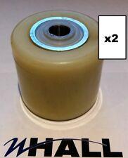 X2 BT L2000 / lhm230 / l23 nylon charge roller / roues + roulements (autorise x70mm)