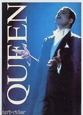 cartolina QUEEN Freddy Mercury postcard - Heroes publishing SPC2387 - pc002