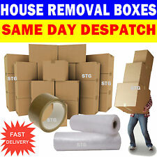 NEW 20 X LARGE Cardboard House Moving Boxes - Removal Packing box