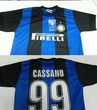 MAGLIA CALCIO FC INTER 2013 CASSANO 6 ANNI UFFICIALE MAGLIETTA ANNO SCORSO 4 5