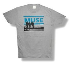 "MUSE - ""RESISTANCE"" TOUR 2010 CHARLOTTESVILLE GREY T-SHIRT - NEW ADULT LARGE L"