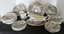 27 PCS MYOTT ROYAL MAIL STAFFORDSHIRE ENGLAND DINNER SET +MORE BOWLS GRAVY PLATE