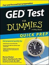 GED Test for Dummies® by Shukyn, Achim Krull and Murray Shukyn (2014, Paperback)