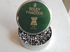 bisley practice 4.5mm / .177 cal x 50 pellet sample pack.