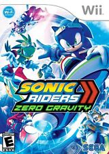Sonic Riders: Zero Gravity - Nintendo  Wii Game
