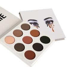 9 Colors Lady Eye Shadow Make Up Cosmetic Shimmer Matte Eyeshadow Palette Set SD
