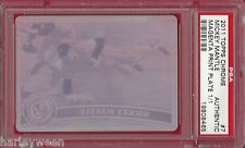 2011 TOPPS CHROME #7 MICKEY MANTLE MAGENTA PRINT PLATE 1/1 ~ PSA AUTHENTIC
