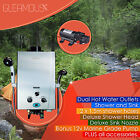Instant LPG Portable Gas Hot Water Camp Shower Heater 4WD Caravan Horse Dog Wash