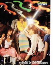 PUBLICITE ADVERTISING 027  1980  Anisette Pernod