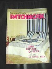 Livre les nouvelles du Patchwork les Charm Quilts le Boutis Ryad  N°40 /BB23