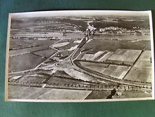 LA SEINE A TANCARVILLE en 1958 - PHOTO AERIENNE 27 cm x 45 cm LAPIE