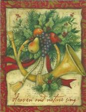 Lang Christmas Cards, Box Of 21, Joy To The World By Susan Winget (108)