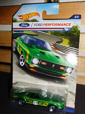 2016 HOT WHEELS FORD PERFORMANCE SERIES #8 GREEN '71 MUSTANG MACH 1