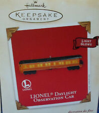 HALLMARK Lionel Daylight OBSERVATION Train Car 2003 Ornament NEW in Box