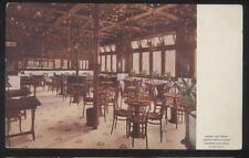 POSTCARD YOUNGSTOWN OHIO BURT'S CANDY SHOP STORE Arbor Dining Room View  1907