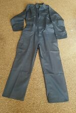"BARATEC OVERALLS COVERALLS BLACKROCK BOILER SUIT MECHANICS NAVY XXL 50""-52"" 9OZ"