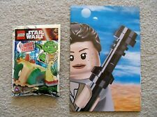 LEGO Star Wars - Rare - 911614 Yoda's Hut Foil Pack w/ Instructions/poster