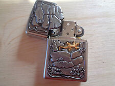 ZIPPO LIGHTER LIZARD ROCK NEW 27458