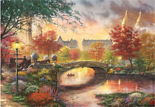 "Jigsaw Puzzles 1000 Pieces ""Autumn in New York"" / Thomas Kinkade"