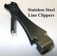 Stainless Steel Line Clippers, Nippers, Snips, Mono, Fly Fishing,  NEW, FREE P&P