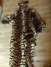 Tiger Plüsch Gr. 54 Herren Kostüm Fasching Leopard Tiger Anzug Kaneval Party