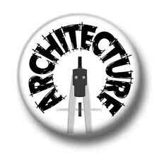 Architecture 1 Inch / 25mm Pin Button Badge Structural Engineer CAD Building Fun