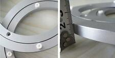 1pc 12'' 300mm  Home Hardware Aluminum Round Lazy Susan Bearing Turntable