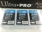 Ultra Pro 150 Count 2-Piece Clear Storage Box x3--Best for AFL 150 card Set