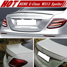 Unpainted For Mercedes BENZ E-Class W213 4D OE Trunk Spoiler E400 E200 17-18