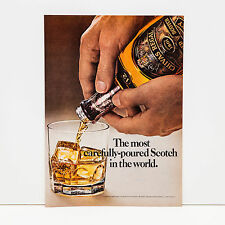 Original 1970s Chivas Regal Scotch Whisky Advert (Vintage Poster Art Ad)