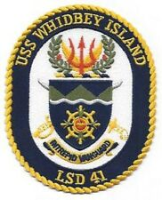 USS WHIDBEY ISLAND LSD-41 DOCK LANDING SHIP MILITARY PATCH INTREPID VANGUARD