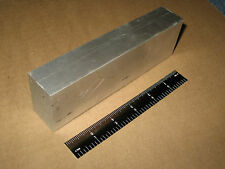 """1.25""""x 2"""" ALUMINUM FLAT BAR STOCK 6.5"""" LONG  6061 T6511 MADE IN USA SQUARE ROD"""