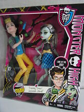 Monster High - Frankie Stein & Jackson Jekyll (Picnic Casket for 2) - Neu+OVP