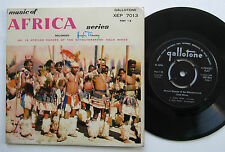 """7"""" African Dances Of The Witwatersrand Gold Mines - Gallotone - Hugh Tracey"""