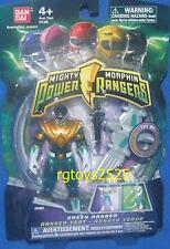 """Mighty Morphin Power Rangers Green New 4 """" Variant Light up Flyer TRANSPARENT"""