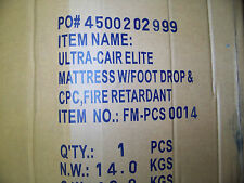 Ultra-Cair Elite Mattress w/ Foot Drop & CPC Fire REtardant 36 X 84M FM-PCS-0014