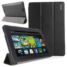 "Poetic Amazon Kindle Fire HD 7"" Inch 2013 Stand  Cover Case - SlimLine - Black"