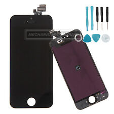 Black LCD Touch Screen Digitizer Display Lens Assembly For Apple iPhone 5 5G UK