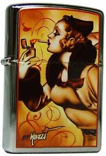 Zippo MAZZI Windy Varga Girl limitiert Nr.050/500 Stück limited Edition NEU