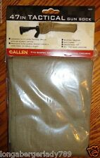 "ALLEN TAN MAGNUM GUN SOCK CASE SILICONE TREATED 47"" TATICAL RIFLE SCOPE SHOTGUN"