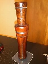 "Vintage "" R Z 9 ""  Iverson Rosewood Duck Call"