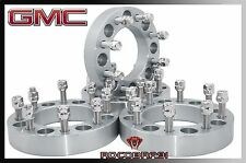 "1999-2010 GMC Sierra 2500 3500 1"" Thick Wheel Spacers Adapters 8x6.5 To 8x6.5"