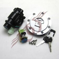 Ignition Switch Gas Cap Cover Key Lock Set for Honda VTR1000 1000F 1999-2005