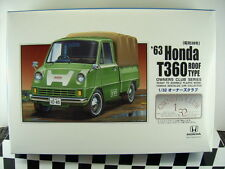 NEW ARII 1963 HONDA T360 ROOF TYPE 1/32 Scale PLASTIC MODEL KIT OWNERS CLUB